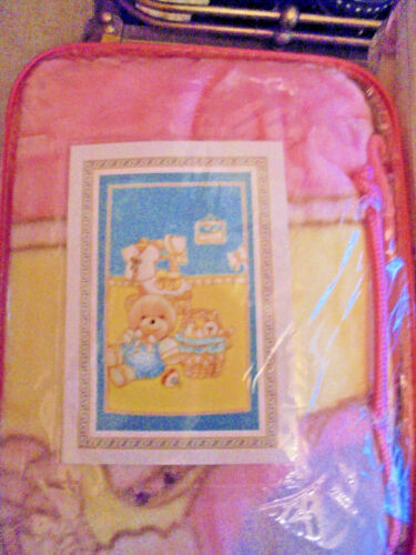 BUY ONE GET ONE FREE NEW BABY SOFT LUXURY BLANKET SIZE 80X110CM 3 COLORS,