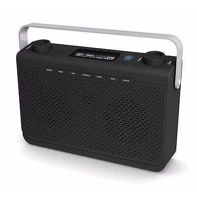 Majority Comberton DAB+ DAB FM Digital Stereo Portable Radio Alarm Clock