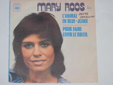 "MARY ROOS -L' Animal En Blue-Jeans- 7"" 45 CBS France"