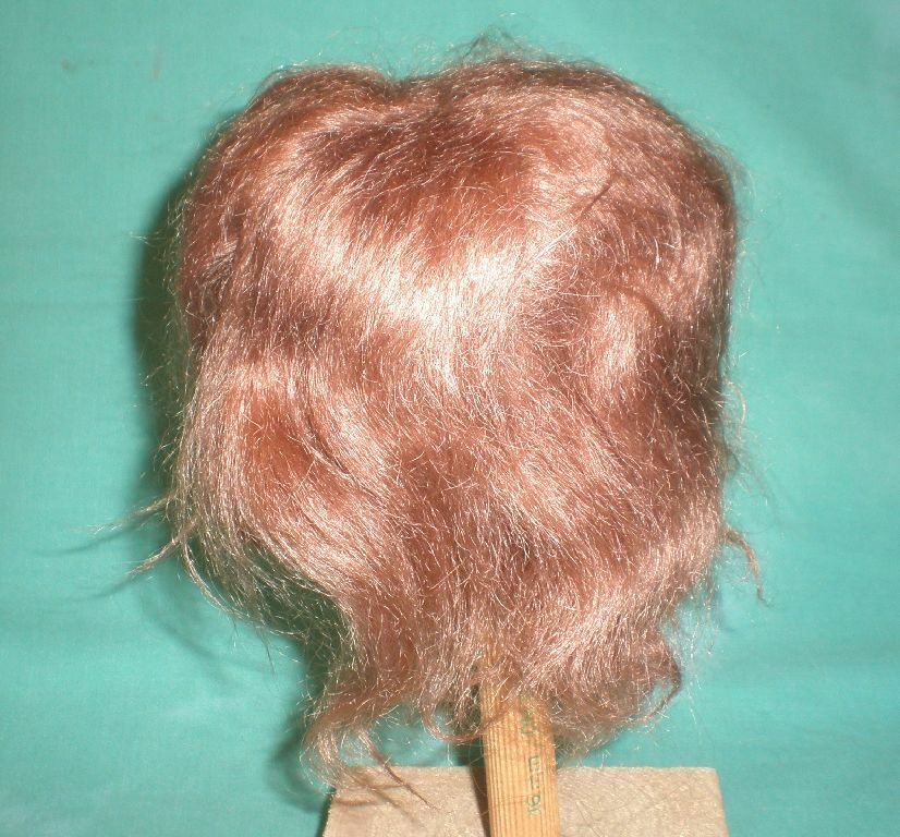 Doll wig ROTdish mohair Braun/ mohair ROTdish 10.5