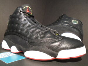 new style c4093 b2370 Details about 2011 NIKE AIR JORDAN XIII 13 RETRO PLAYOFF BLACK RED WHITE  BRED 414571-001 11.5