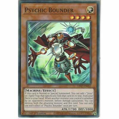 Psychic Bounder LED7-EN032-1st Ed NM Super Rare Yugioh