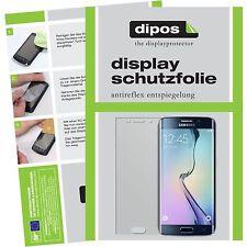 2x Samsung Galaxy S6 Edge Pellicola Prottetiva Antiriflesso Proteggi Schermo