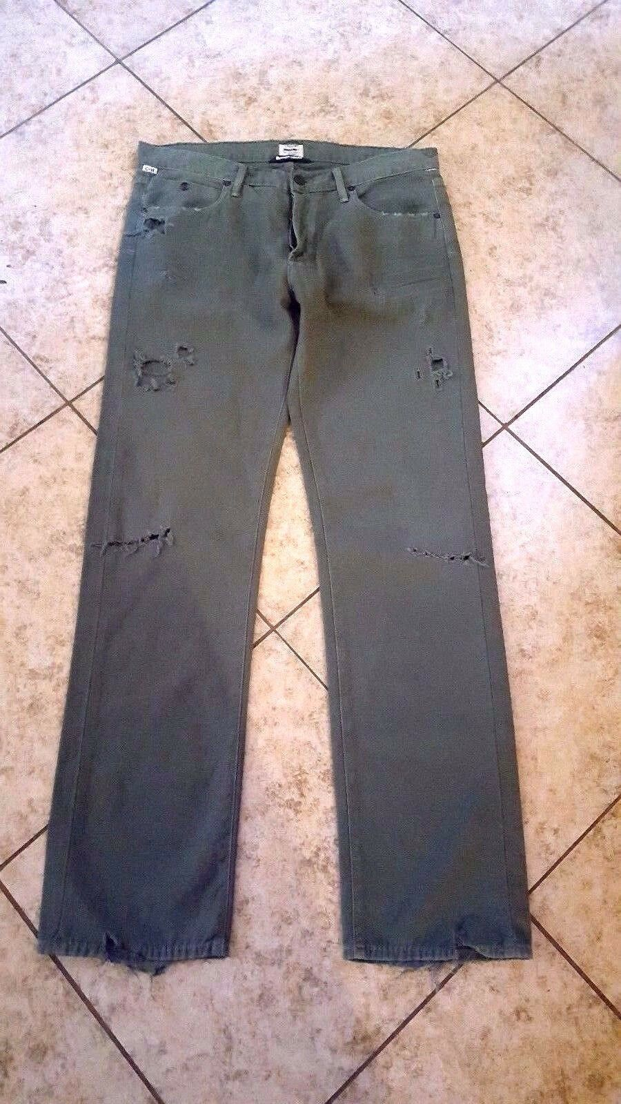 Citizens Of Humanity Jeans Women LIYA or Emerson Sz 27  High Waist Olive  Green