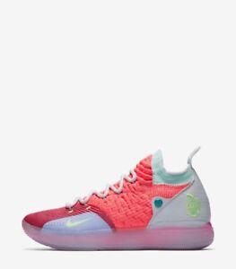 c84877184110a Nike KD 11 EYBL Peach Jam AO2604-600 w Receipt Size 8-14