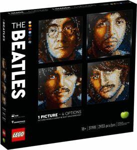 LEGO-Art-31198-The-Beatles-Picture-Mosaik-4in1-Motive-VORVERKAUF-N8-20