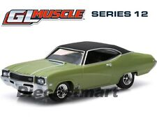 GREENLIGHT 1:64 Muscle Series 12 1968 Buick GS 400 - Ivory Gold Mist 13120A