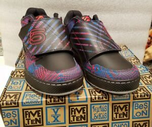 authentic quality release date: free delivery Details about Five Ten Freerider ELC Psychedelic Red Blue shoes 6.0 US NEW  in box