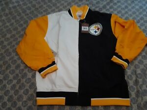 69b37148 Image is loading Authentic-Pittsburgh-Steelers-Super-Bowl-NFL-Mitchell-Ness-