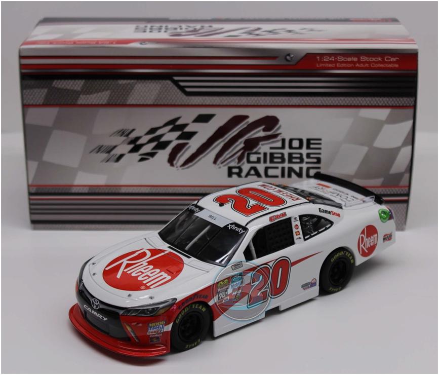 NASCAR 2018 CHRISTOPHER BELL  20 RHEEM  1/24 CAR