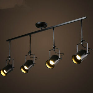 Loft metal track lamp retro fixtures ceiling stage spotlight track image is loading loft metal track lamp retro fixtures ceiling stage mozeypictures Image collections