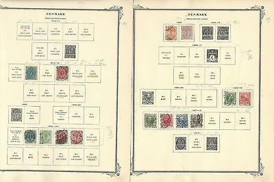 Dänemark & West Indies Sammlung 1851-1960 On 25 Scott Spezialität Seiten SchöNer Auftritt