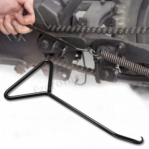 T-Handle Exhaust Stand Spring Hook Puller Tool Motocross Kart Bike Motorcycle