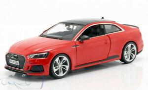 AUDI-RS-5-Coupe-1-24-escala-Diecast-Modelo-Coche-Die-Cast-Modelos-Juguete-A5-a-5