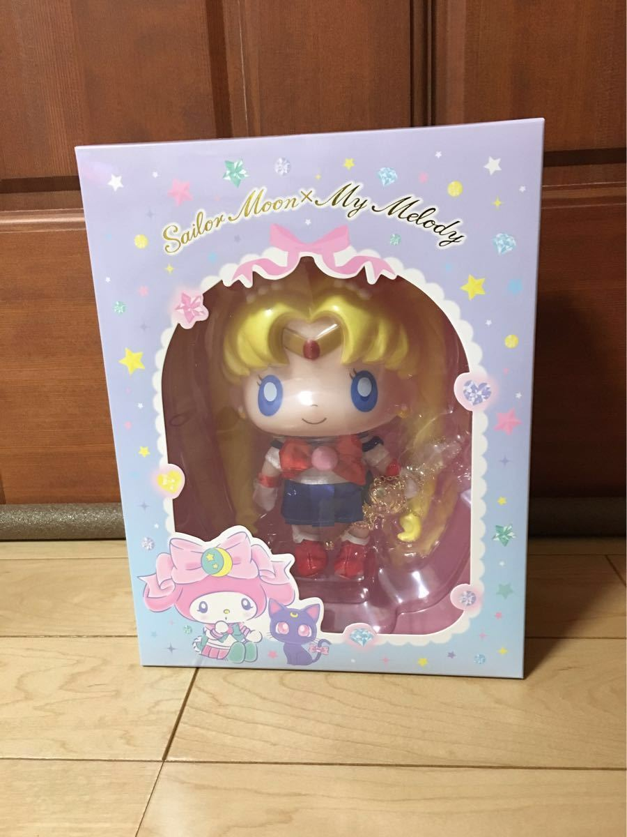 Sailor Moon x My Melody 25th anniversary Doll & Necklace sanrio NEW Frrom Japan