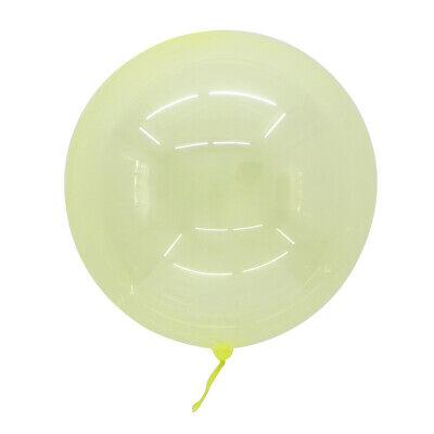 100 Stück XL 45cm Helium Bubble Transparent Luftballons Kristall Klar Geschenk
