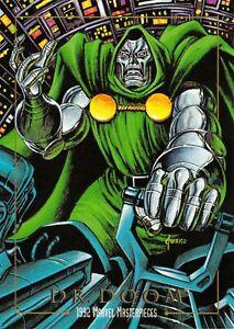 DR-DOOM-1992-Marvel-Masterpieces-BASE-Trading-Card-26-Art-by-JOE-JUSKO