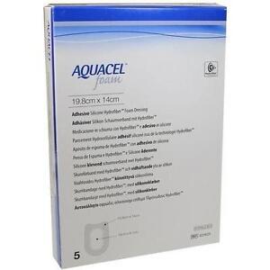 AQUACEL-Foam-adhaesiv-Ferse-14x19-8-cm-Verband-5-St