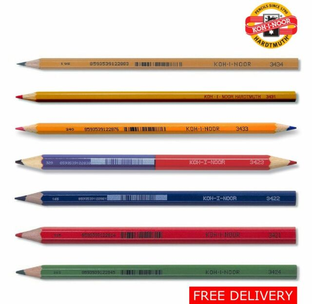 Verithin Pencil 748 Red//Blue
