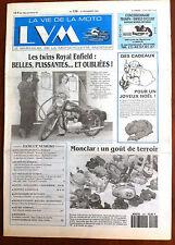 LVM - La Vie de la Moto n°129 du 15/12/1993; Les twins royal Enfield/ Monclar