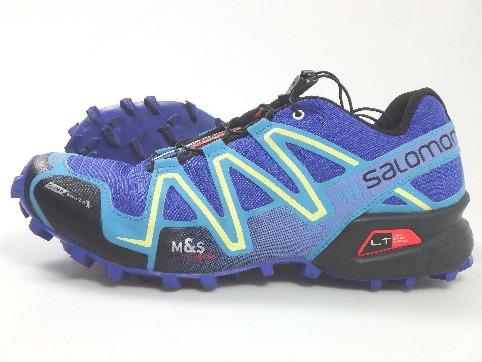 27235 Salomon Speedcross 3 Scarpe Da Corsa Correre Scarpe Jogging Uomo 41 1/3 BLU