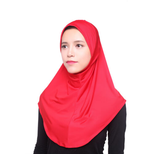 One Piece Hijab Scarf Stole for Muslim Women Ladies Several Colours abaya bonnet