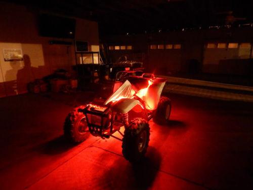 18 Color Changing Led RZR XP ATV UTV Quad 4 Wheeler 8pc Led Neon Glow Light Kit