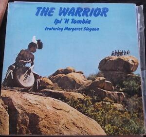 WORLD-MUSIC-LP-The-Warrior-Ipi-039-N-Tombia-feat-Margaret-Singana-AFROBEAT