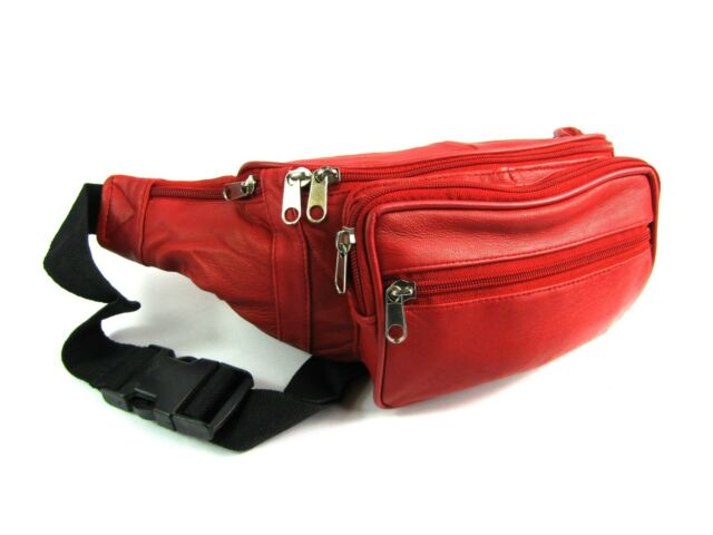 Top Genunie 100/% Leather BumBag Money//Belt//Waist Travel Holiday Pouch