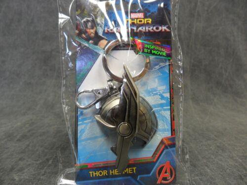 Marvel Comics Key Chain Ring Half Helmet Pewter Keychain Thor Ragnarok NEW