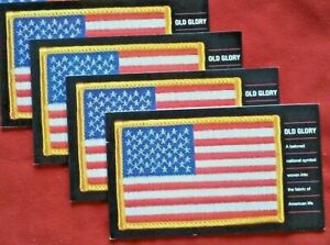 Four (4) Souvenir Booklets x 20 = 80 of OLD GLORY 37¢ US PS Stamps. Sc 3776-3780