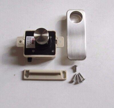 Whisper Non Locking Boat Cam Latch Striking Plate Cabinet Hardware 23090-CH