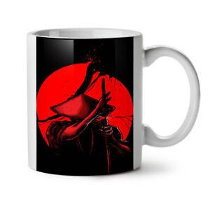 Japanese Warrior NEW White Tea Coffee Mug 11 oz | Wellcoda
