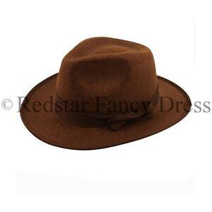 La imagen se está cargando Indiana-Jones-Sombrero-Explorador -Vaquero-INDIOS-Accesorio-para- eea87e1aad0