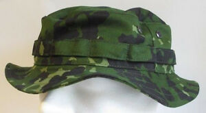 RECCE Hat Boonie  Danish  M84  green camouflage      - Made in Germany