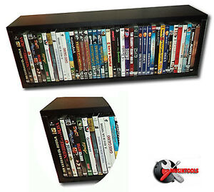 Mueble estanteria para dvd blu ray y juegos nueva ebay - Mueble para dvd ...