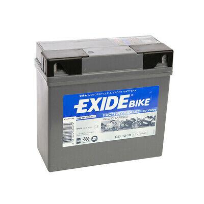 Batterie moto Exide GEL12 19 51913 12v 19ah 170A