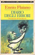 Diario degli errori- E.FLAIANO, 1995 Bompiani editore - ST324