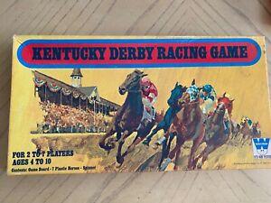 Kentucky Derby Horse Racing Board Game Vintage 1970 Collectible Whitman Ebay