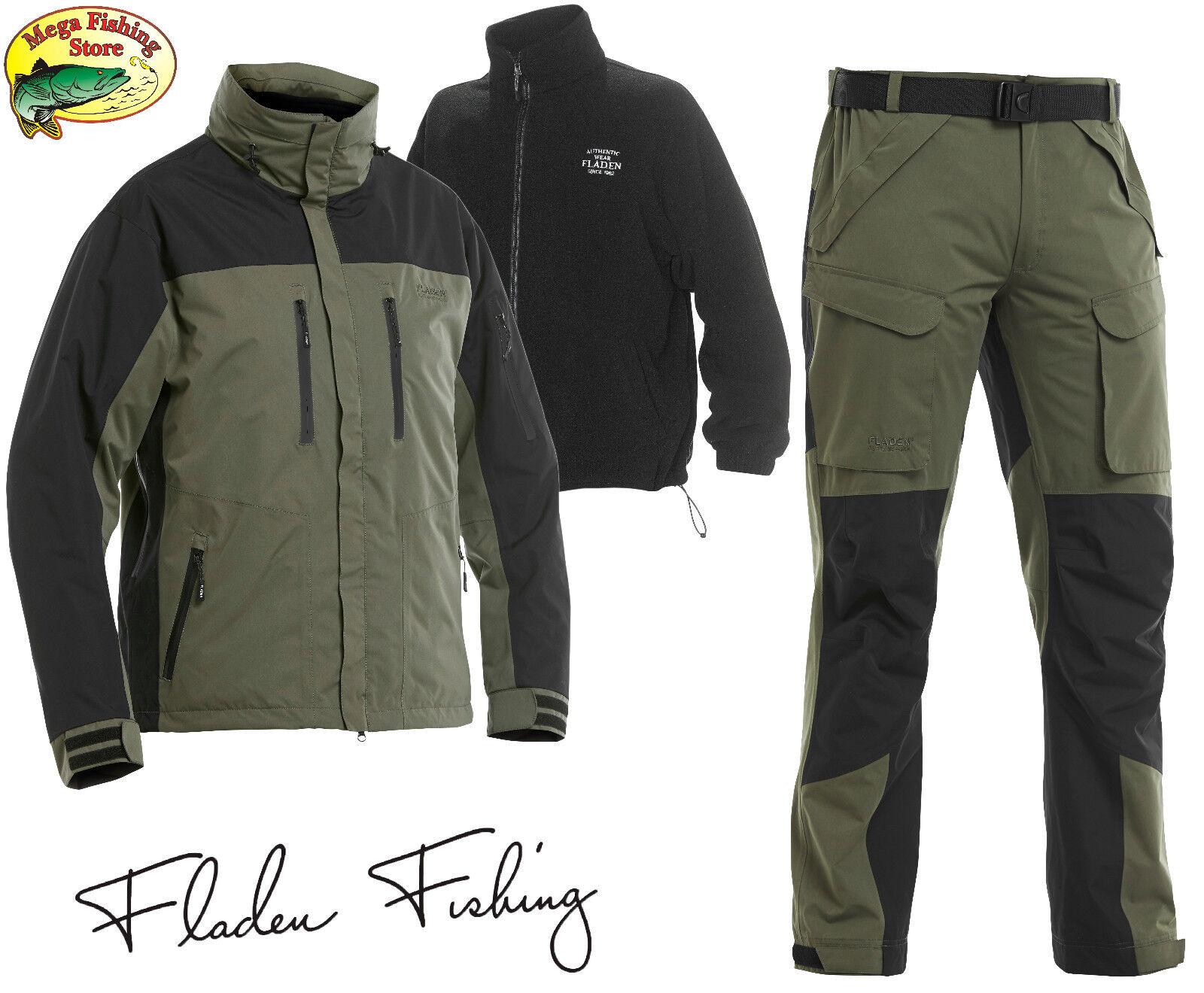 Fladen authentic 3in1 Thermo angel outdoor traje-invierno chaqueta & pantalones funcionen