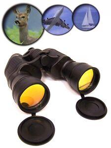10x50-FERNGLAS-binocular-mit-KOMPASS-Feldstecher-stossfest-Tasche