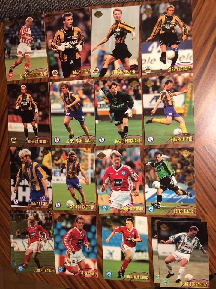 Samlekort, Fodboldkort fra Faxe Kondi Ligaen 98/99