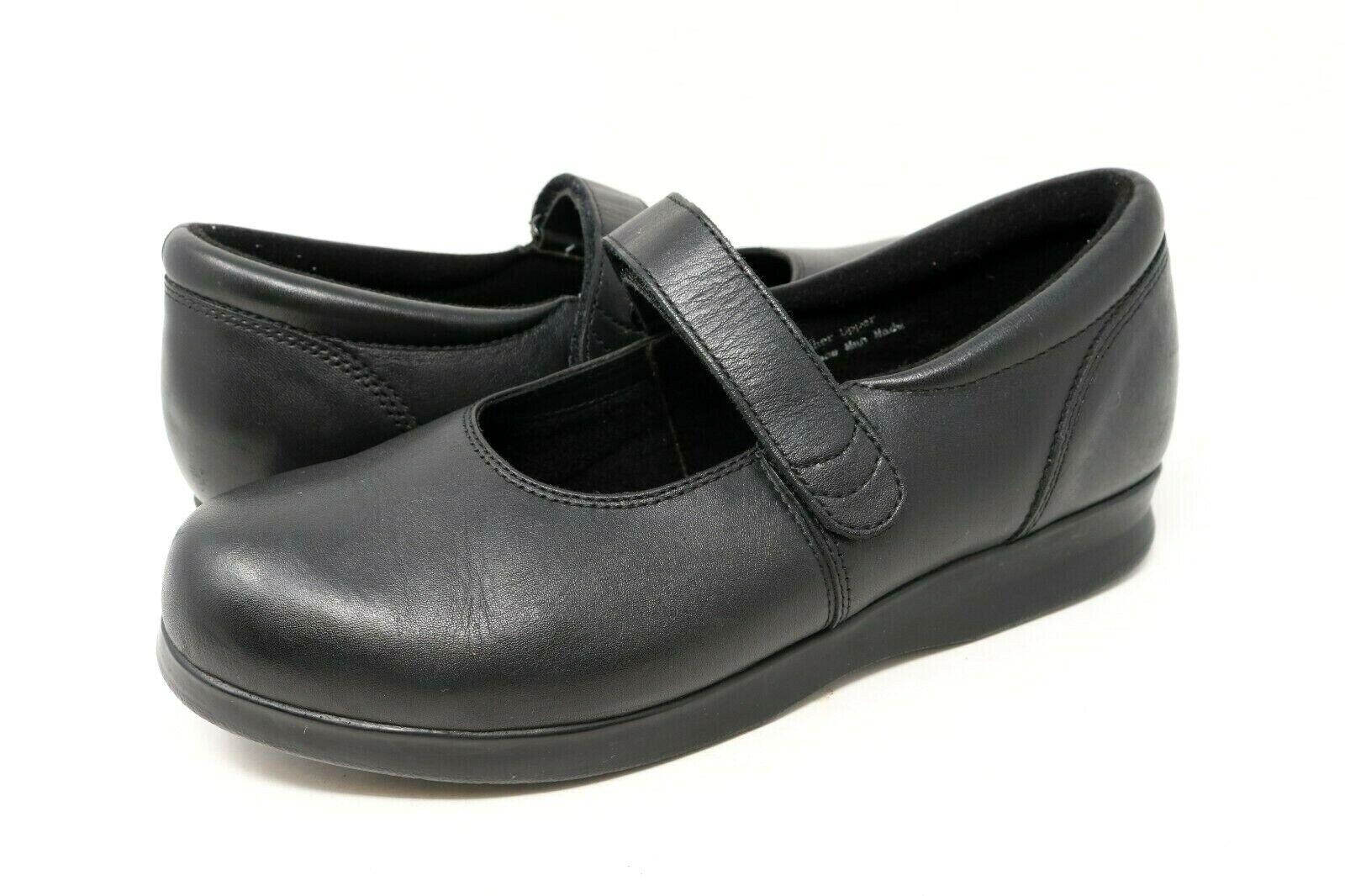 Drew Bloom II chaussures Mary Jane noir Orthopédique Diabétique chaussures Sz 10.5 m