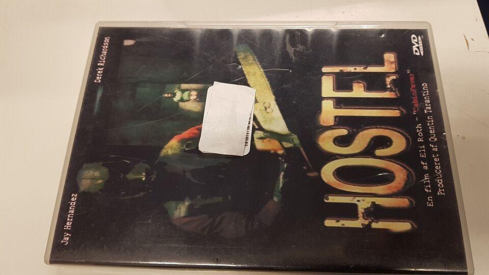 Hostel, DVD, gyser