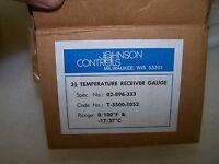 """Johnson Controls 3 1/2"""" Pneumatic Temperature Indicator T-5500-1052 Gauge"""