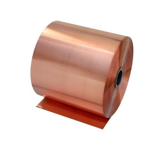 1pc 0.02mm × 100mm x 1000mm 99.9/% Pure Copper Cu Metal Sheet Foil Freeship