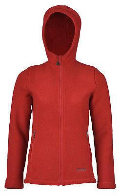 Engel Natur Germany Damen Woll Fleece Jacke mit Kapuze Bio kbT grüner Knopf   eBay