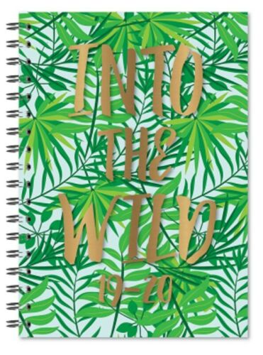 2019 2020 A5 Academic Diary Mid Year Week To View Soft Cover WTV W2V Student