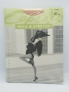Capezio #N14C Child Youth Hold /& Stretch Footed Tights Black Suntan Pink NEW