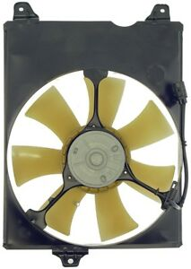 Engine-Cooling-Fan-Assembly-Right-Dorman-fits-98-03-Toyota-Sienna-3-0L-V6